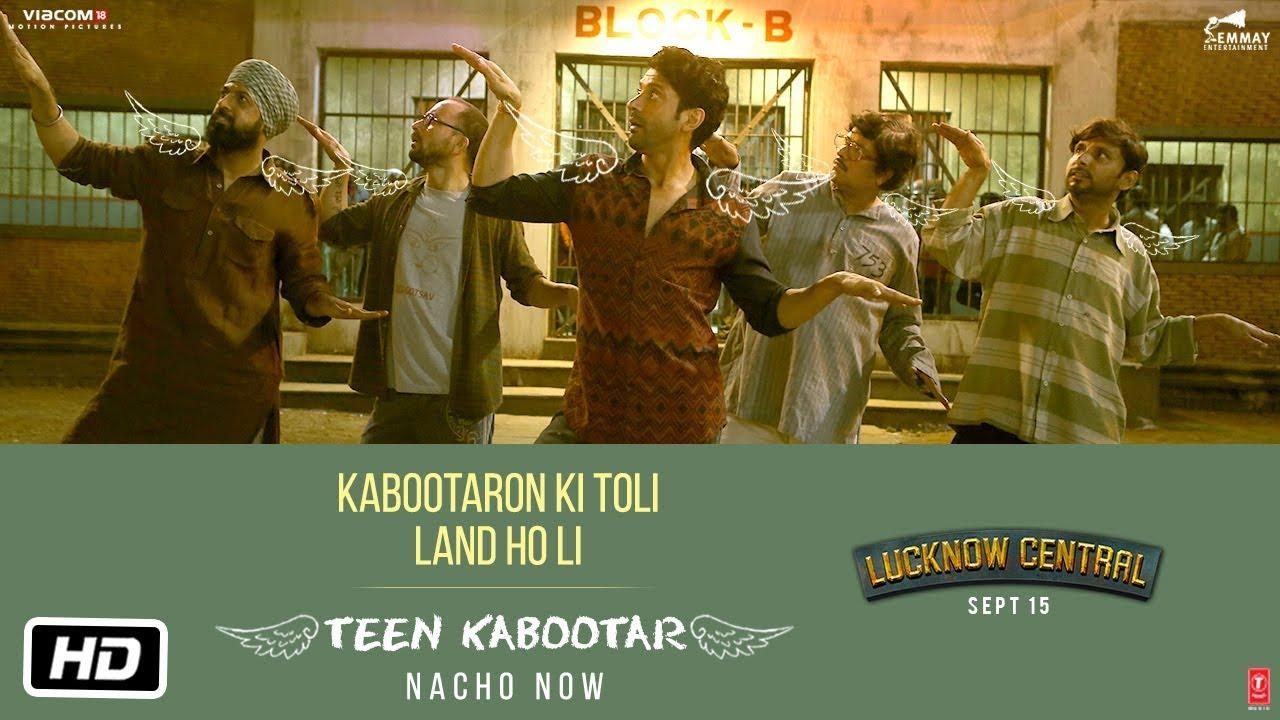 In Lucknow Central Song Teen Kabootar, Farhan Akhtar And