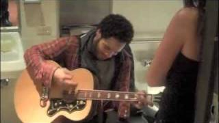 The Luckiest Lenny Kravitz fan... Aftershow surprise: Stillness Of Heart (Acoustic)