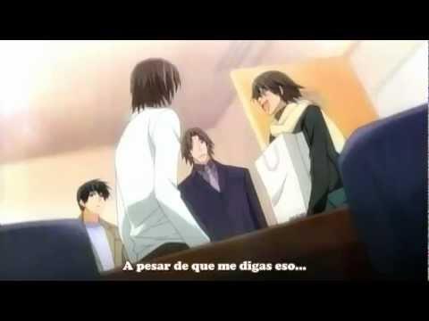 Junjou Romantica Anime Primera Aparicion De Ijuuin Kyo-Sensei.