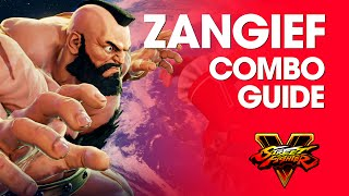 Download Video Street Fighter V: ZANGIEF Combo Guide MP3 3GP MP4