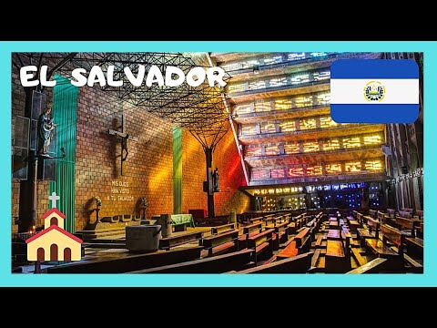 EL SALVADOR, IGLESIA EL ROSARIO, a Church that touches your soul