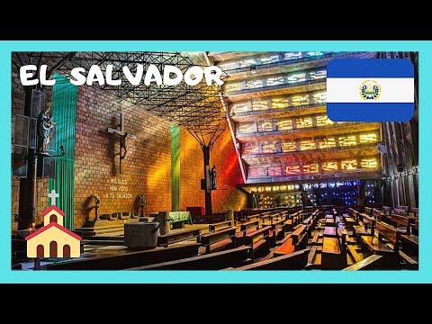 EL SALVADOR, IGLESIA EL ROSARIO, a Church that touches your soul