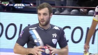 Créteil VS Nantes Handball LNH D1 2015 2016 17e journée