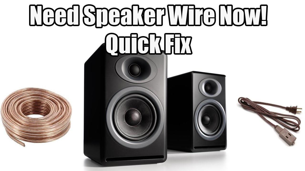 🎤 Need Speaker Wire Now (Dr. NOOB\'s Lab) - YouTube