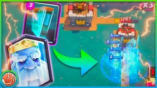 SUPER VEEL ROYAL GHOSTS! (TROLL DECK) - Clash Royale
