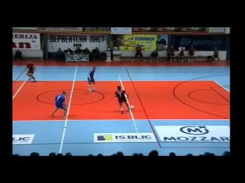 Derventa Nektar futsal 2015. 1/2 finale Dević tekstil-Apeiron
