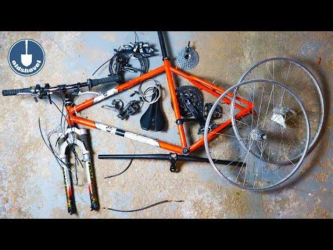 Restoration Bike Build - Bontrager Race Lite