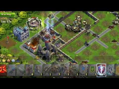 Dominations: WW: HT attack against lvl 178 (Global)with industrial army