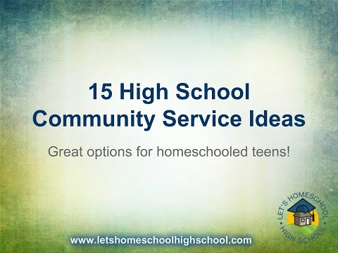 15 Community Service Ideas for Teens