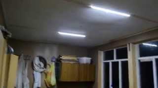 Автономное освещение на LED-диодах 12В дач,гаражей,пасек.(Модернизация освещения на ЛЕД-диодах домика пасечника., 2015-09-13T03:13:30.000Z)