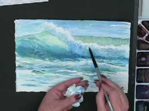 Making Waves Techniques For Painting Ocean Waves In