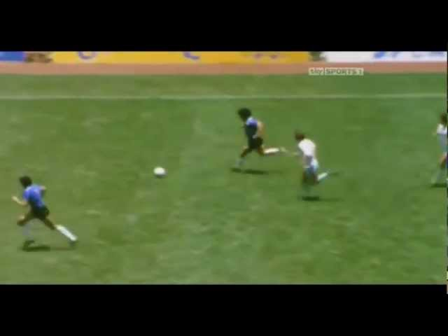 Diego Armando Maradona, 22 de junio de 1986