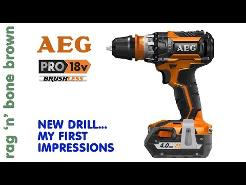 AEG BSB 18 CBL Brushless Hammerdrill Driver - First Impressions
