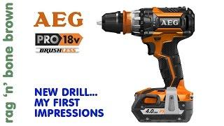 AEG BSB 18 CBL Brushless Hammerdrill Driver First Impressions