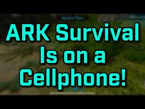 ARK Survival Evolved... On Smartphones!