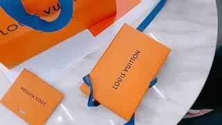 루이비통 카드지갑 명함지갑 언박싱