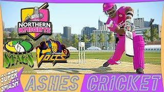 Ashes Cricket Career Mode #71 (NZ Super Smash) Back In Good Form! (4K XB1 X)
