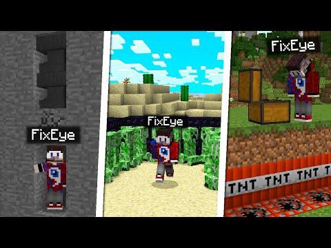 7 Способов затроллить FixEye в Майнкрафт!