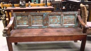 Ethnic Furniture At San Diego Rustic - Sdrimports.com