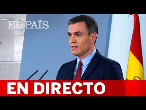 DIRECTO #CORONAVIRUS   PEDRO SÁNCHEZ comparece ante los medios