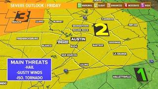 Live Radar: Tracking severe storm potential Friday night   KVUE screenshot 2