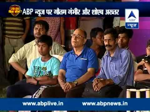 Who is IPL 20-20's king : Gautam Gambhir and Shoaib Akhtar on ABP News