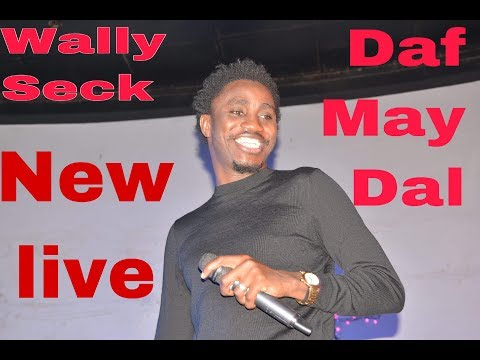 New live de Wally Seck Album symphonie — Daf May Dal