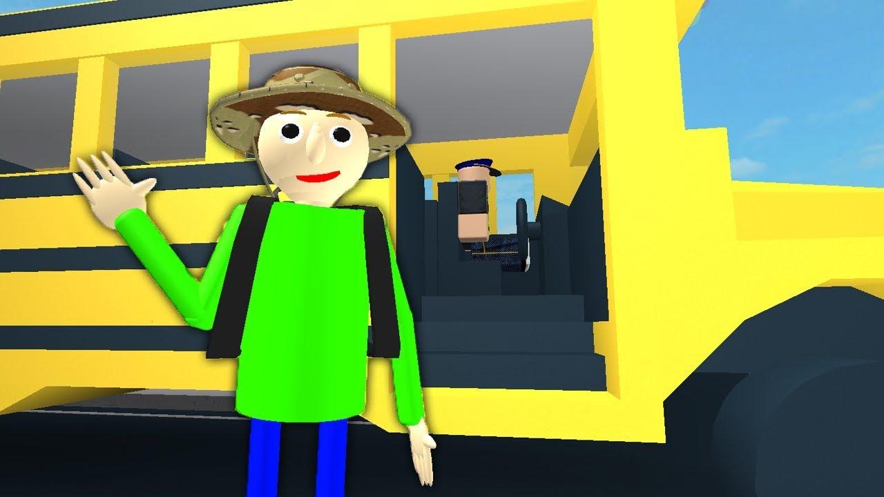 Baldi S Field Trip Roblox Animation Youtube
