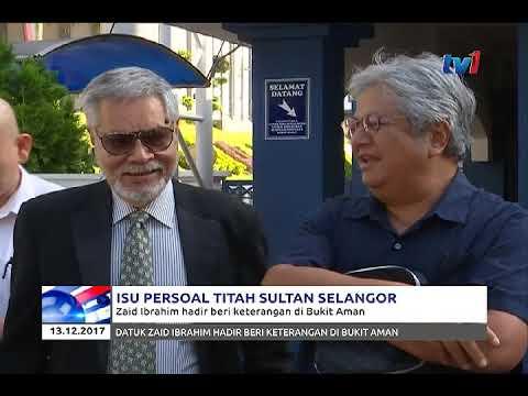 DATUK ZAID IBRAHIM BERI KETERANGAN DI BUKIT AMAN PAGI TADI [13 DIS 2017]