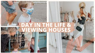 Day In The Life & Viewing Houses | VLOG AD