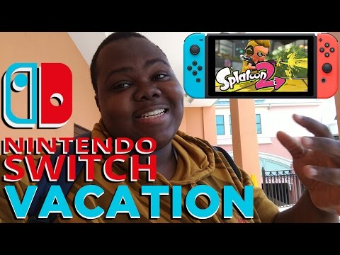 NINTENDO SWITCH VACATION TRAVELING With NINTENDO SWITCH REVI