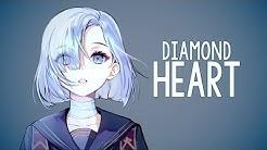 Nightcore -  Diamond Heart (Alan Walker) // lyrics