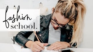 PRODUCTIVE Day At University (Fashion School) - Day In The Life