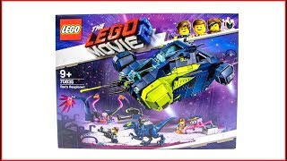 LEGO MOVIE 2 70835 Rex's Rexplorer! Construction Toy - UNBOXING