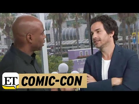 ComicCon 2018: LIVE With Salvation Star Santiago Cabrera