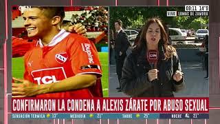 Confirmaron la condena a Alexis Zárate