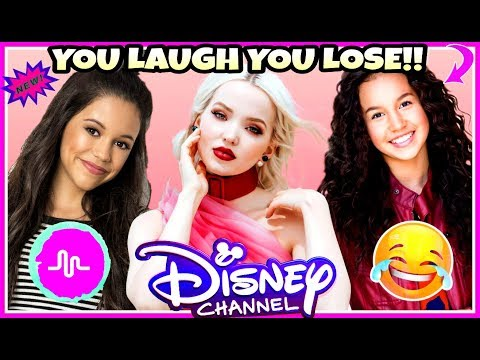 Thumbnail: Try Not To Laugh Or Grin Challenge Disney Stars Edition | Funniest Disney Channel Stars Musicallys