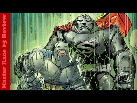 DARK KNIGHT 3: THE MASTER RACE #5 Review - Supermans Back & Kryptonite Rain!