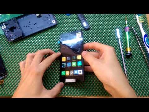 Xiaomi Redmi 4a. Разборка и замена модульного экрана