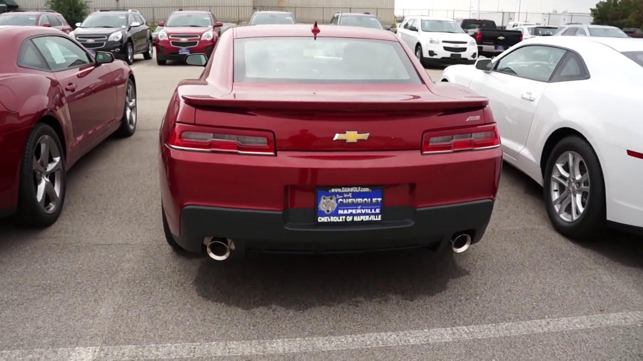 2014 Chevrolet Camaro differences between models SS RS and Base V-6 ...