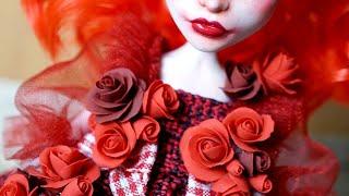 Rose Red 🌹 OOAK Custom MH Doll Spectra Repaint