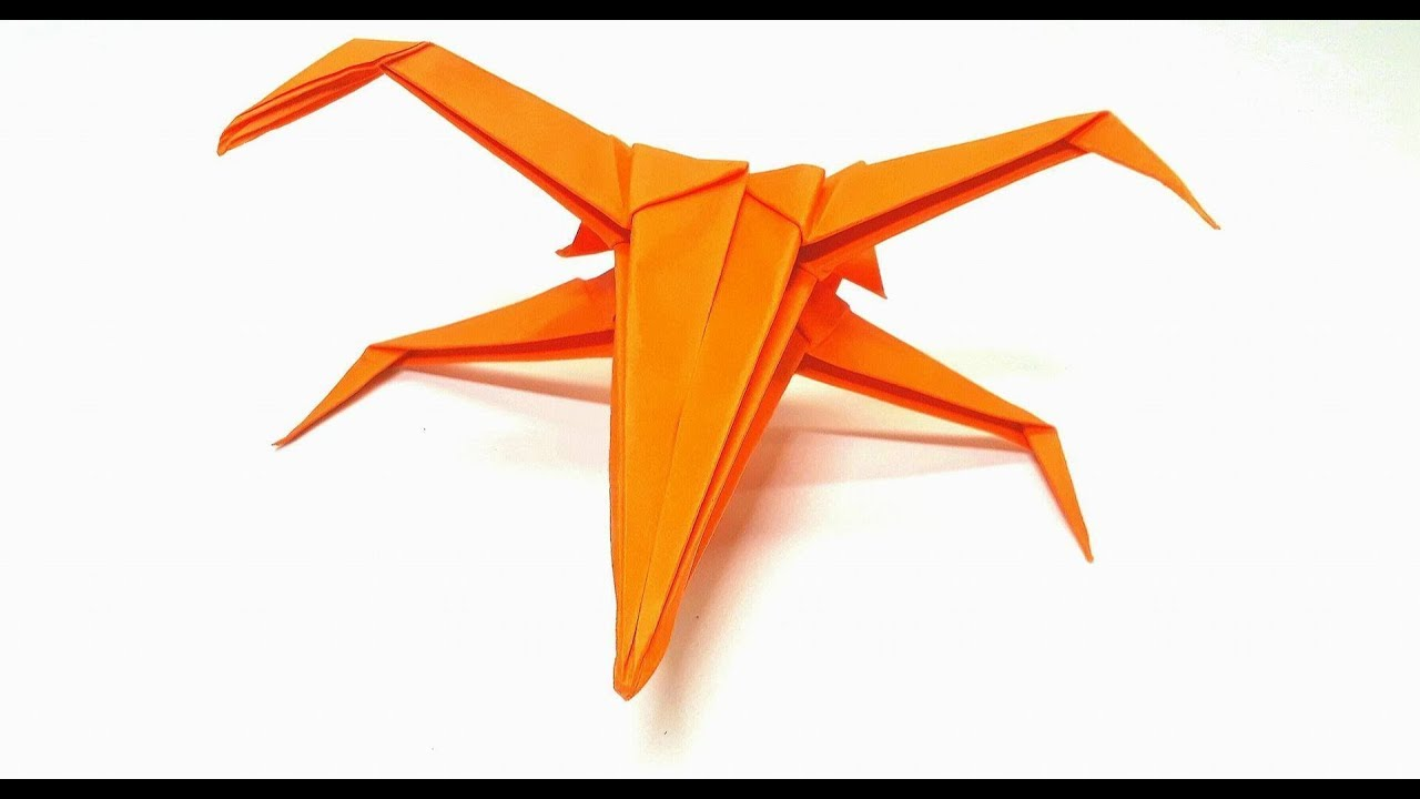 Origami tutorial how to make an easy origami x wing youtube origami tutorial how to make an easy origami x wing jeuxipadfo Gallery