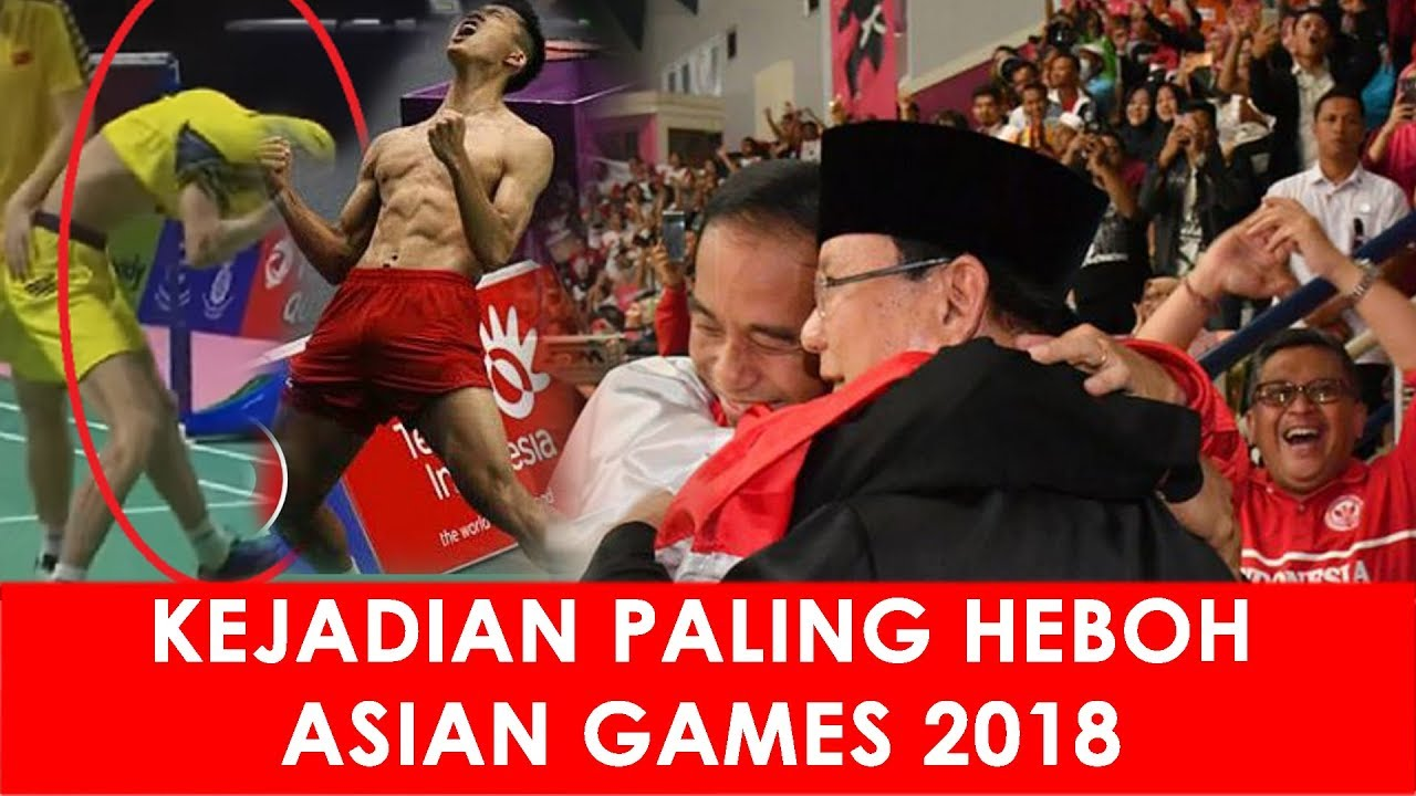 kejadian viral heboh di asian games 2018 youtubekejadian viral heboh di asian games 2018