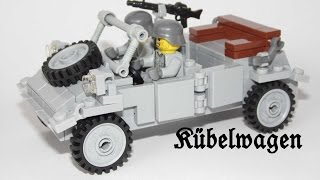 WW2 Custom Kübelwagen aus LEGO® Steinen (German with English subtitles)