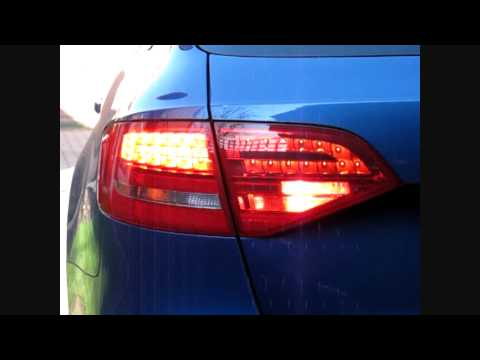 Audi A4 B8 My2010 Avant Euro Led Factory Fit Tail