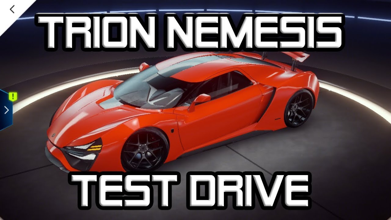 Trion Nemesis At Max 3rd Golden S Class Car Asphalt9