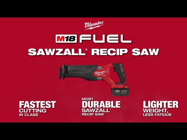 Milwaukee® M18 FUEL™ SAWZALL® Reciprocating Saws