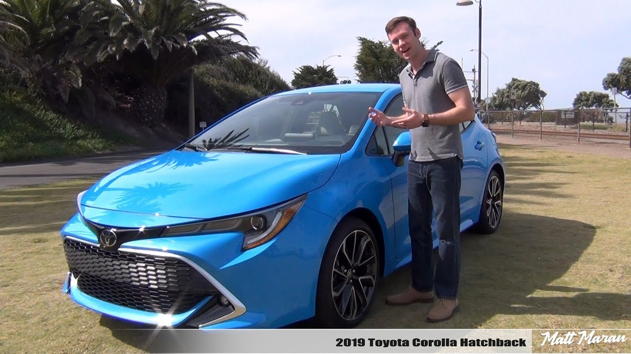 Review 2019 Toyota Corolla Hatchback Manual Auto Making