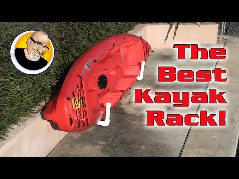 The Best Kayak Rack!