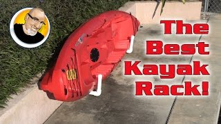 The Best Kayak Rack!